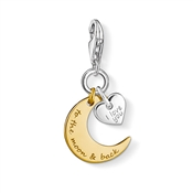 Thomas Sabo To the Moon and Back Charm