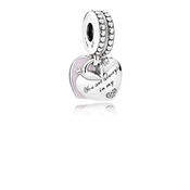 PANDORA Mother & Daughter Pendant Charm