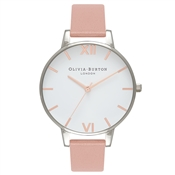Olivia Burton Big Dial Dusty Pink & Rose Gold Watch