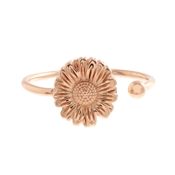 Olivia Burton Daisy Open Ended Rose Gold Ring