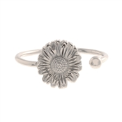 Olivia Burton Daisy Open Ended Silver Ring