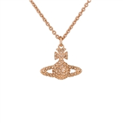 Vivienne Westwood Grace Rose Gold & Champagne Necklace