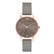 Olivia Burton Midi Grey Dial & Rose Gold Watch