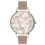 Olivia Burton Parlour Blossom Birds & Iced Coffee Watch