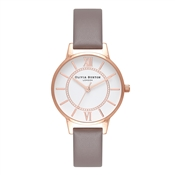 Olivia Burton Wonderland Grey & Rose Gold Watch