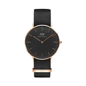 Daniel Wellington Classic Black Cornwall 36mm Watch