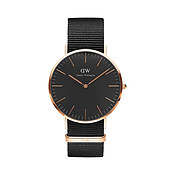 Daniel Wellington Classic Black Cornwall 40mm Watch