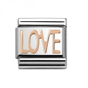 Nomination Rose Gold Love Charm