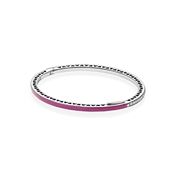 PANDORA Cerise Radiant Hearts of PANDORA Bangle