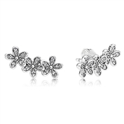PANDORA Dazzling Daisy Clusters Stud Earrings