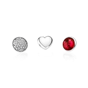 PANDORA July Petites Locket Charm