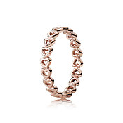 Pandora Linked Love Rose Ring
