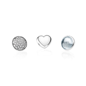 PANDORA March Petites Locket Charm