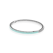 PANDORA Mint Radiant Hearts of PANDORA Bangle
