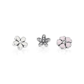 PANDORA Poetic Blooms Petites Locket Charm