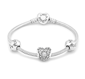 PANDORA April Birthstone Bracelet