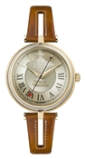 Vivienne Westwood Gold and Tan Farringdon Watch