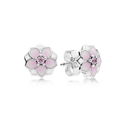 PANDORA Magnolia Blooms Stud Earrings