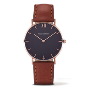 Paul Hewitt Sailor Line Navy & Brown Watch