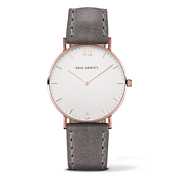 Sailor Line Rose Gold & Grey Watch by Paul Hewitt