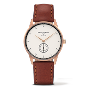 Paul Hewitt Signature Line White & Brown Watch
