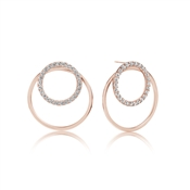 Sif Jakobs Valenza Uno Rose Gold Earrings