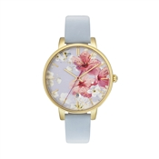 Ted Baker Blue Oriental Blossom Kate Watch
