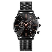 Thomas Sabo Mens Black Chrono Rebel Spirit Watch