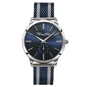 Thomas Sabo Mens Blue & Silver Rebel Spirit Watch