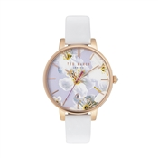 Ted Baker White Oriental Blossom Kate Watch