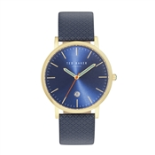 Ted Baker Mens Blue Printed Graham Watch
