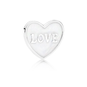 PANDORA Love Heart Locket Small Plate