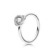 PANDORA Luminous Love Knot Ring