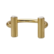 Pilgrim Doralis Gold Crystal Bangle