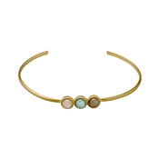Pilgrim Elda Gold Bangle
