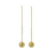 Pilgrim Gold Aleja Chain Earrings