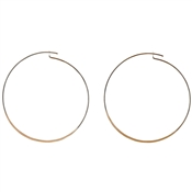 Pilgrim Rose Gold Tilly Hoop Earrings