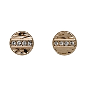 Pilgrim Grace Rose Gold Stud Earrings