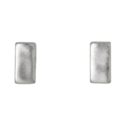 Pilgrim Lavina Silver Stud Earrings