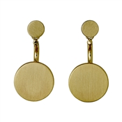Pilgrim Mell Gold Earrings