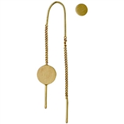 Pilgrim Mell Gold Assymetric Earrings