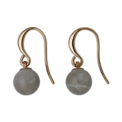 Pilgrim Rose Gold & Grey Earrings