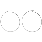 Pilgrim Silver Tilly Hoop Earrings