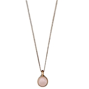 Pilgrim Elda Rose Gold & Pink Necklace