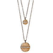 Pilgrim Grace Rose Gold Layered Necklace