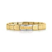 Nomination Bella La Vita Gold Bracelet