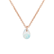 Argento Blue & Rose Gold Necklace