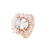 Argento Rose Gold Stellar Statement Ring