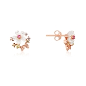 Argento Blossom Mother of Pearl Studs