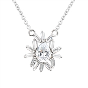 Argento Silver Stellar Crystal Necklace